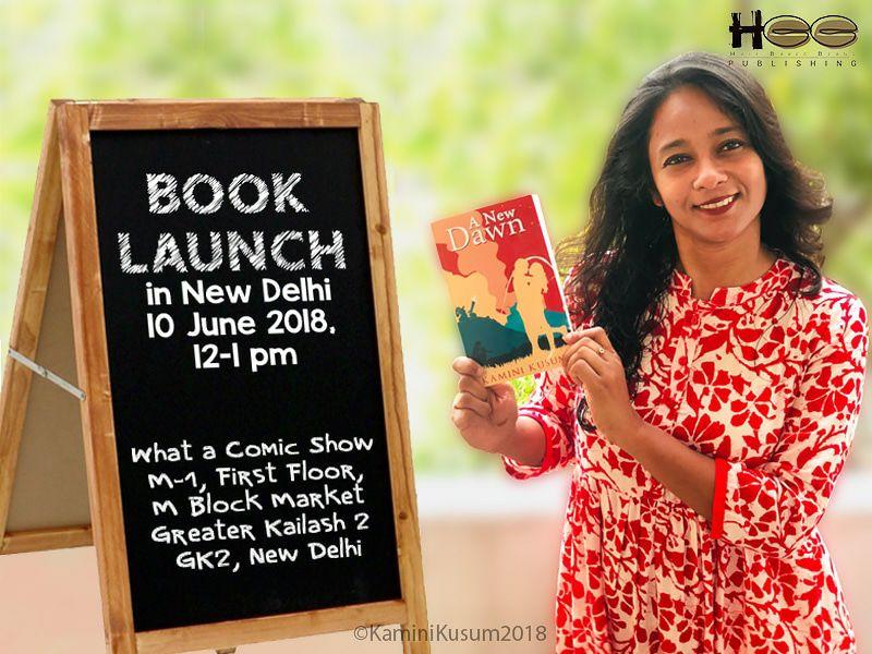 Delhi launch of 'A NEW DAWN' by Kamini Kusum